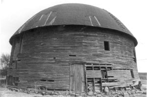 Exterior, Arcadia Round Barn, c1970's