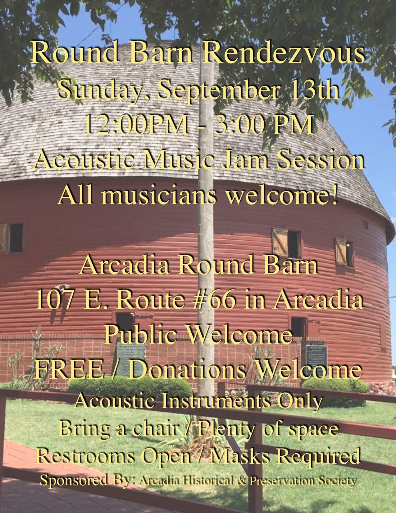 Round Barn Rendezvous 2020-09-13