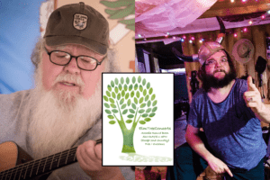 Memorial Day 2021 - Buffalo Rogers and Rick Reily Elm Tree Concerts - Arcadia Round Barn